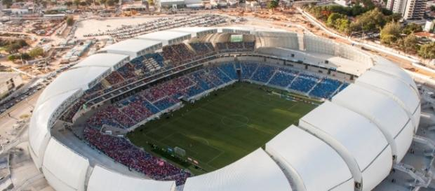 Arena das Dunas receberá Fla x Flu no fim de semana (Foto: Blog do Carlos Costa)