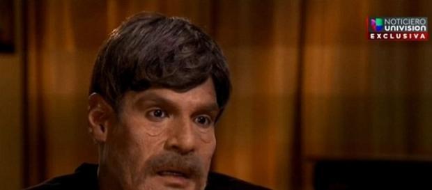 Bărbatul de origine hispanică, presupusul amant al asasinului din Orlando - Foto: Univision TV
