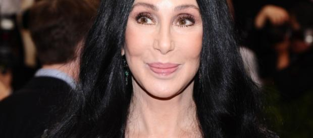 Cher relaxes in Saint Tropez with friends
