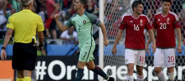 Con la destacada actuación de Cristiano Ronaldo, Portugal avanzó a octavos de final en la Eurocopa