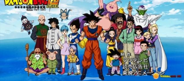 Dragon Ball Super Presentacion.