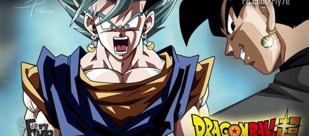 Dragon Ball Super: Vegetto SSJ Dios Azul y Black