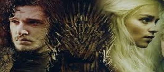 Jon Nieve y Danerys Targaryen, ¿hielo y fuego?