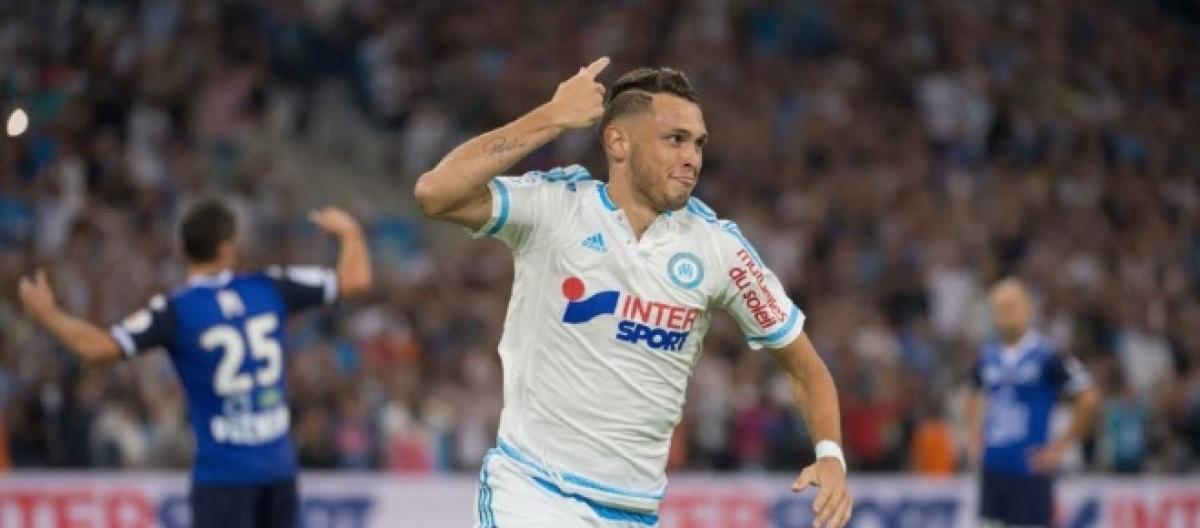 Seconda Maglia Olympique de Marseille Lucas OCAMPOS