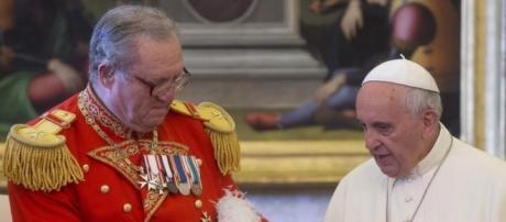 Papa Francisco reuniu-se com Frei Matthew Festing