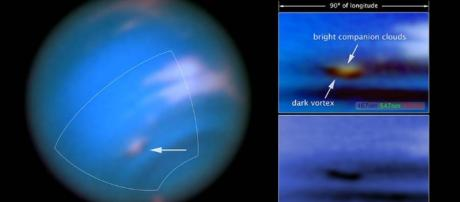 Hubble Imagery Confirms New Dark Spot on Neptune - SpaceRef - spaceref.com