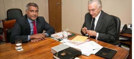 Temer teria dado secretaria para Romário