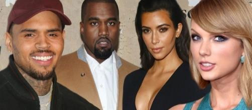As Kanye West and 'Taylor Swift' get naked in Famous, who's real ... - mirror.co.uk