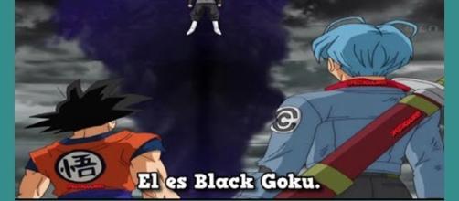 Black Gokú ha viajado en el tiempo
