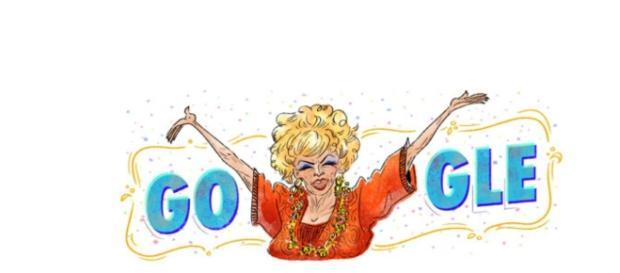 Doodle homenageia Dercy Gonçalves
