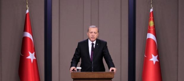 Erdoğan, Presidente da Turquia.