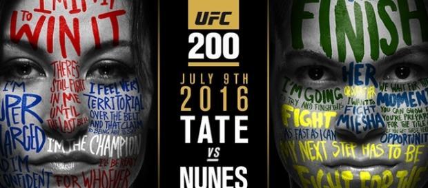 Foto: Divulgação pôster UFC 200