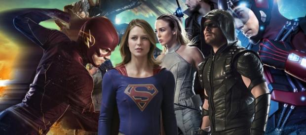 Personagens das quatro séries da DC Comics. Foto: Google.