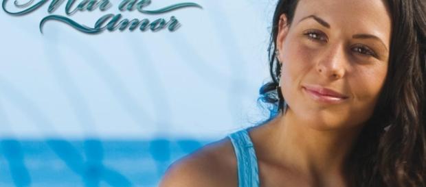 Zuria Vega em 'Mar de Amor'(Foto: Televisa Oficial)