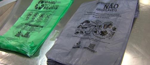 Lei obriga estabelecimentos a conceder sacolas gratuitas foto/globo.com