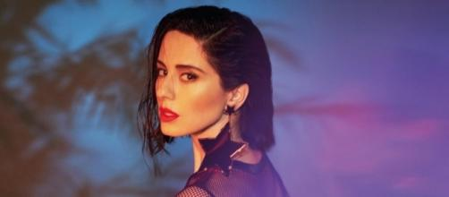 """Paola Iezzi nella cover dell'EP """"Lovenight"""""""