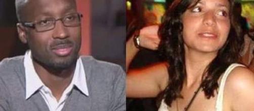 Rudy Guede, in permesso premio nel week-end, e Meredith Kercher, la ragazza per il cui omicidio è stato condannato