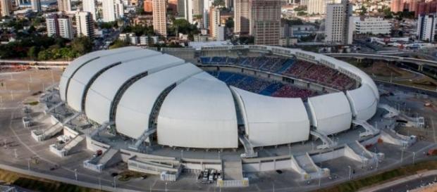 Arena das Dunas, em Natal, será palco do tradicional clássico Fla x Flu