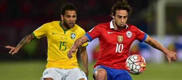 Brasil jogou mal e perdeu para o Chile na estreia das Eliminatórias