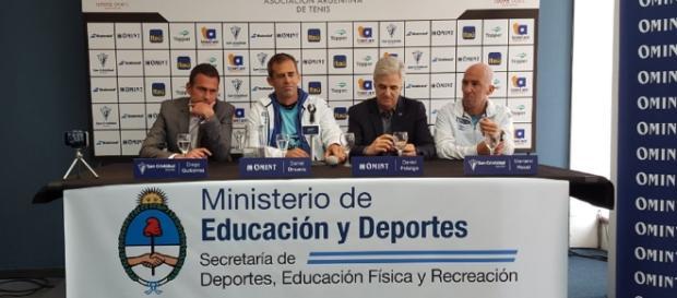 Del Potro, Mónaco, Delbonis y Pella conformarán el equipo argentino de Copa Davis en la serie ante Italia por los cuartos de final