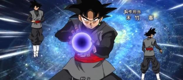 Goki Black, villano de la serie