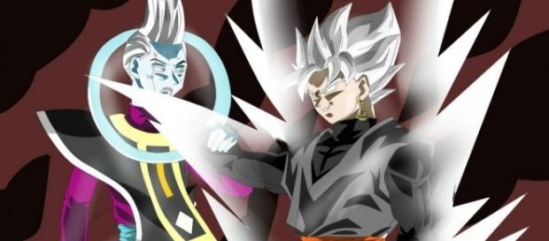 Goku Black superia el poder de Wiss