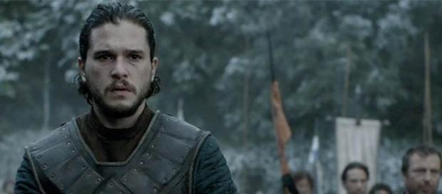 """Jon Snow em """"A Batalha dos Bastardos"""" de Game of Thrones."""