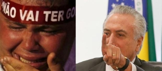Michel Temer decide colocar petistas no Olho da Rua
