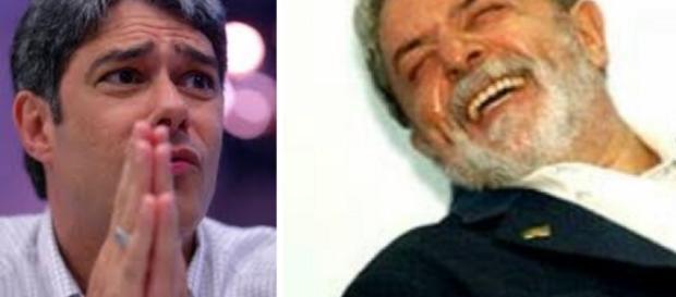 William Bonner pode ter que ler direito de resposta a favor de Lula