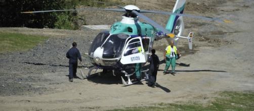 Un pescador ha sido rescatado por el helicóptero medicalizado del principado de Asturias por una caída