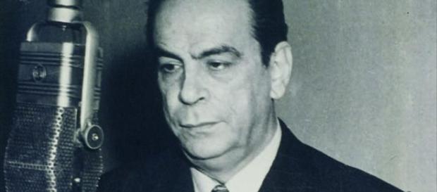 Don Rómulo Gallegos, escritor y ex presidente venezolano