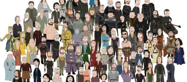 Personagens de Game of Thrones