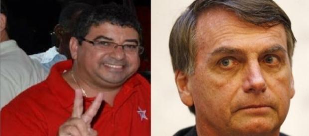 Prefeito do PT xinga Bolsonaro na internet