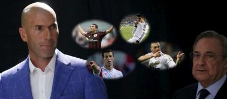 No se ponen de acuerdo Zidane y Florentino respecto a los fichajes a realizar este verano