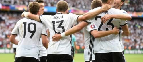 A Alemanha avança na competição