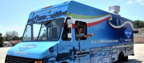Emanuele Filiberto, street food, pasta, California, food truck