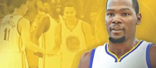 Kevin Durant de super estrella de Oklahoma a secundon en Golden State.
