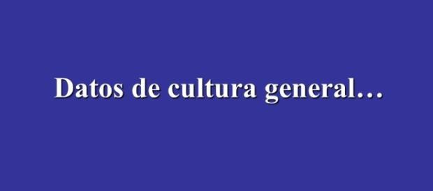 """La presentación """"SABIAS QUE… Datos de cultura general"""