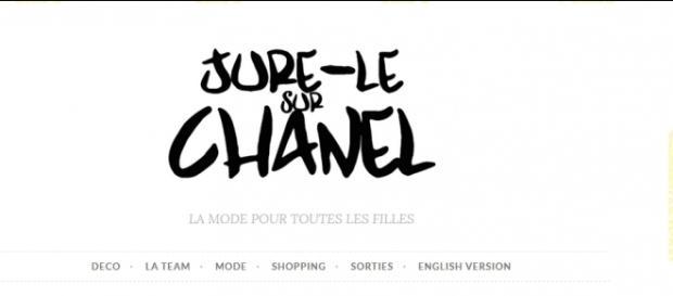 """Le blog de mode """"Jure le sur Chanel"""" a été crée par Ludivine, Amélie et Mathilde."""