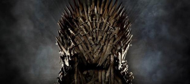O cobiçado trono de ferro, assento do Rei dos Sete Reinos