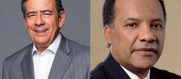Paulo Henrique Amorim e Heraldo Pereira