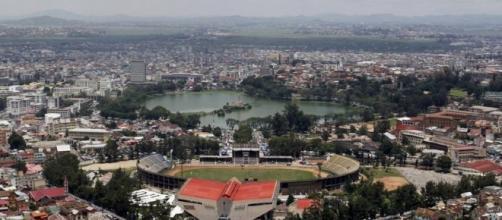 El estadio donde explotó la bomba