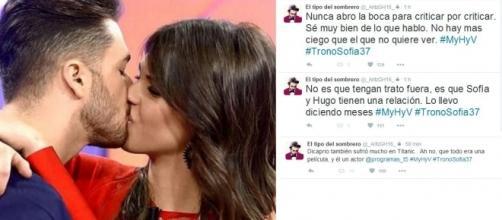 ¡Hugo y Sofía mantinen una relación fuera del programa!