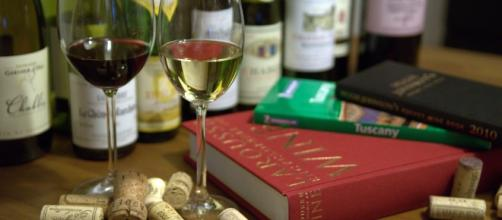 A good glass of wine to go with that book/Photo via Michal Osmenda,Brussels