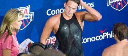 Ryan Lochte failed to earn a berth on the 2016 Olympic team after fading to third during the 400m IM final. Nicole/Flickr