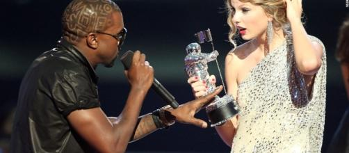 Taylor Swift appears nude in Kanye West video