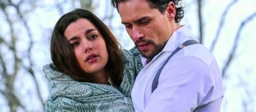 'Una Vita': Manuela e il piano contro Justo.