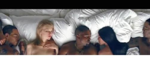 Video Kanye West Famous: Vip senza veli