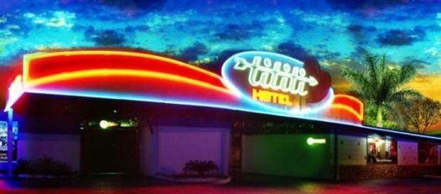 Fachada do motel onde Paulo Morato foi encontrado