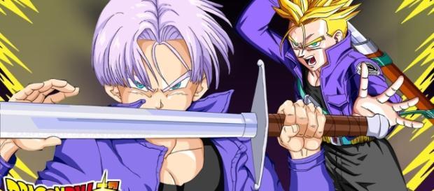 Kaioshin le habría entregado la espada legendaria a Trunks